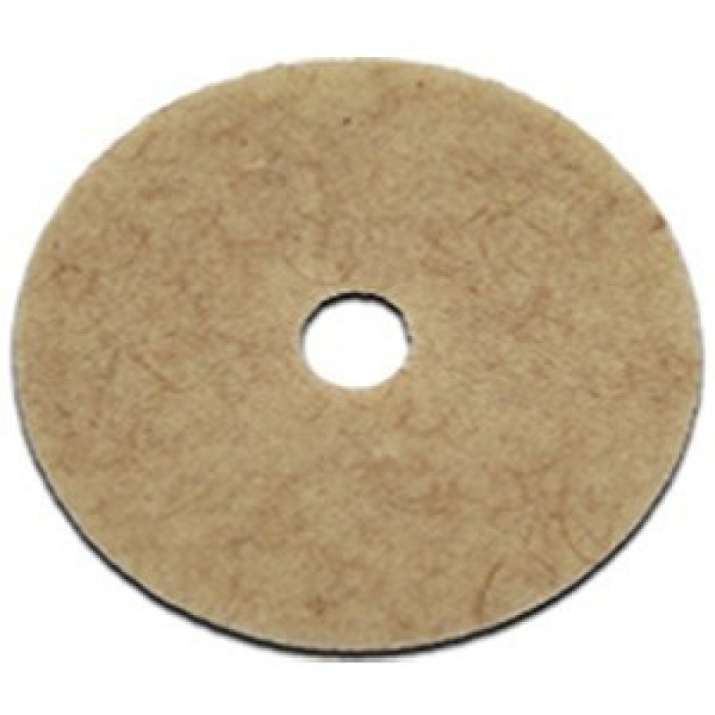 20 inch coconut scented floor polishing pads 5 per case for 17 floor buffer pads