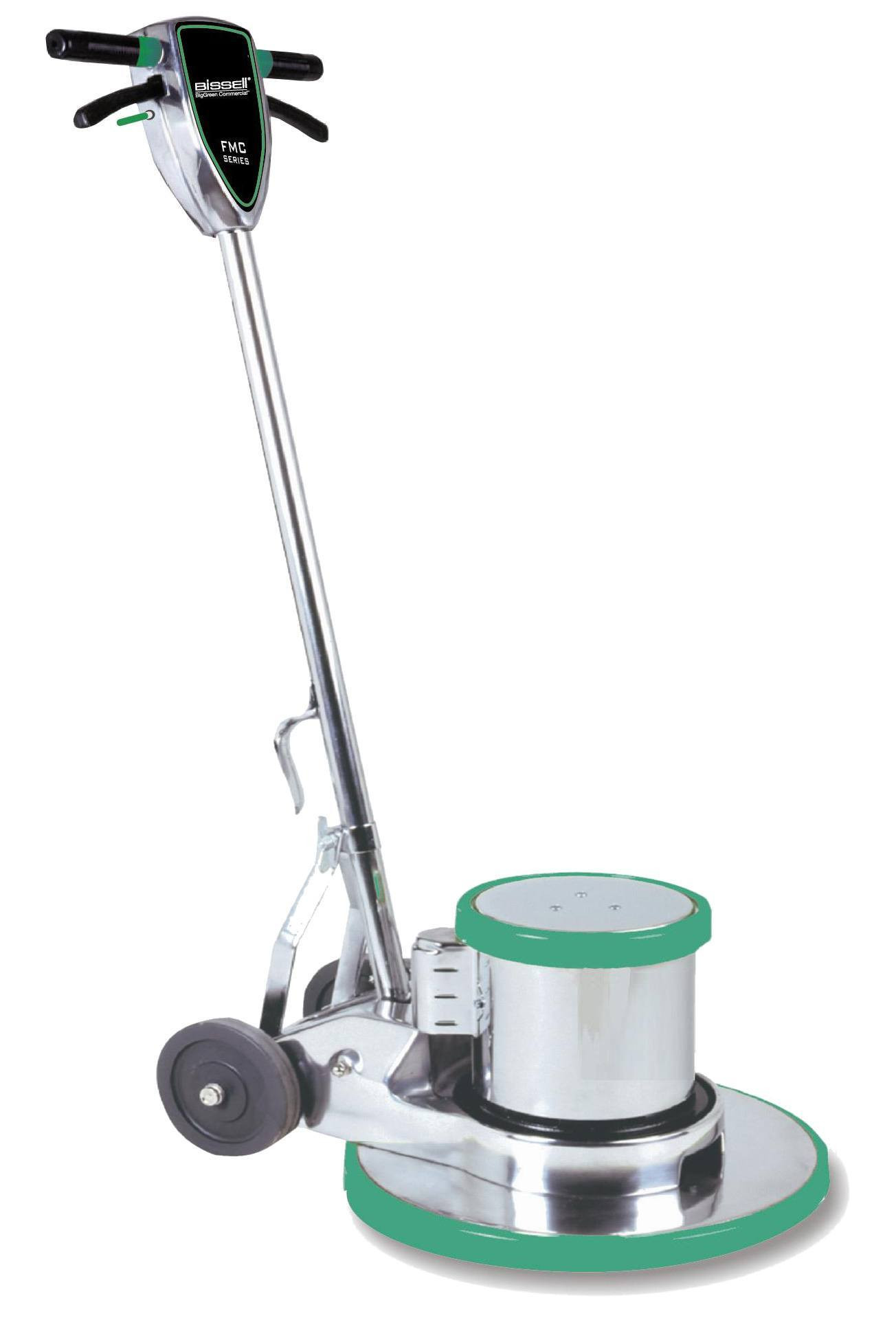 Bisselll 20 inch carpet scrubbing machine for Scrubbing concrete floors