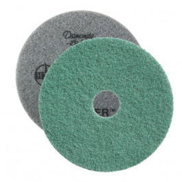 Twister™ 3000 Grit Round Green Diamond Concrete Prep Pads (2 Pack)