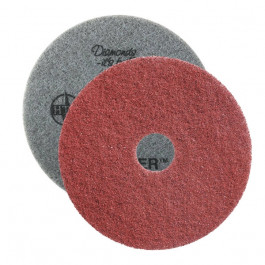 Twister™ 400 Grit Round Red Diamond Concrete Prep Pads