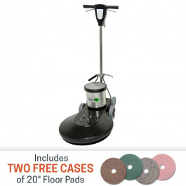 Task-Pro 1500 RPM Floor Burnisher - 20