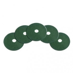 12 Quot Green Deep Scrubbing Pads For Heavily Soiled Floors 5