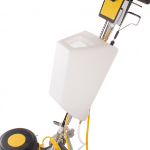 Rotary Floor Scrubber Solution Tank - White