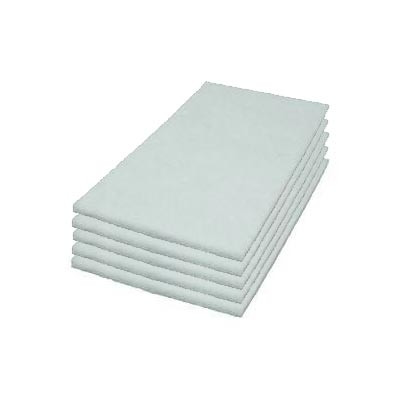 Case of 14 x 20 inch White Rectangular Pads