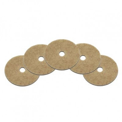 Case of 17 inch Coconut Fiber Brunishing Pads