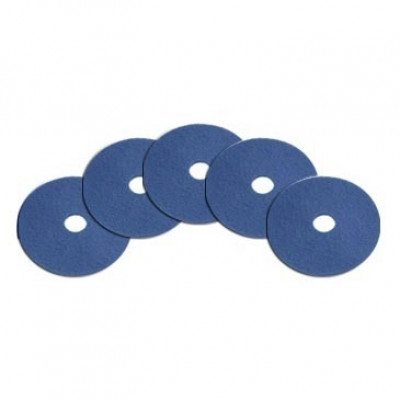 20 inch Blue Floor Scrub and Cleaning Pads