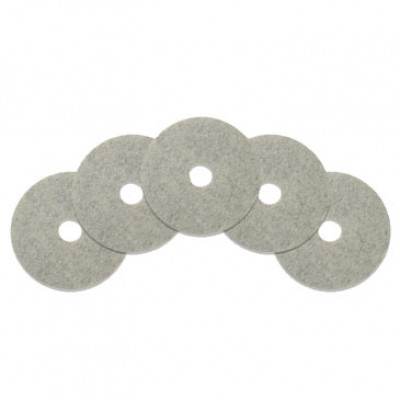 17 inch Combo (Poly & Natural Fibers) Floor Burnishing Pads