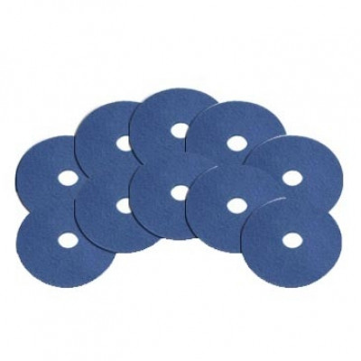 6.5 inch Blue Baseboard Edger Pads