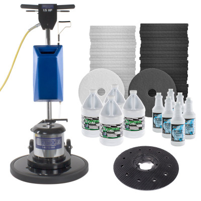 Floor Wax Stripper & Chemicals
