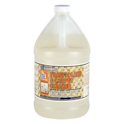 Traffic Lane Carpet Scrubbing Solution