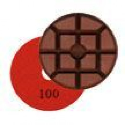 Wet Concrete Polishing Resin Disks - 100 Grit