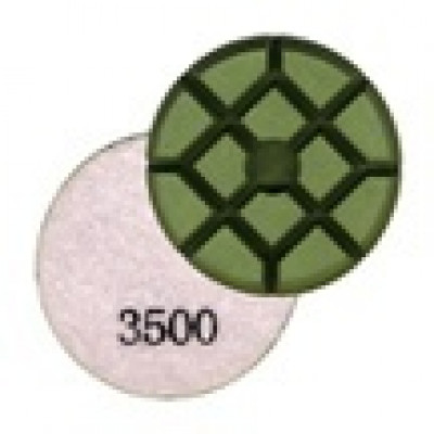 Wet Concrete Polishing Resin Disks - 3500 Grit