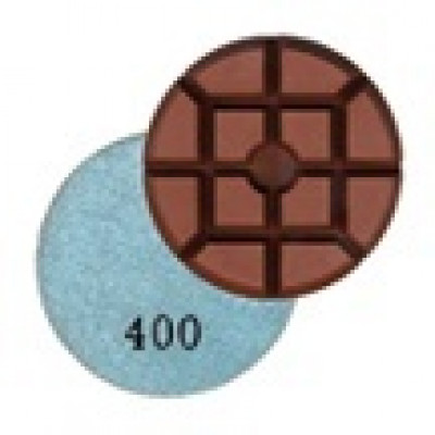 Wet Concrete Polishing Resin Disks - 400 Grit