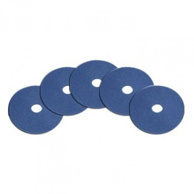 10 Inch Blue General Cleaning Pads Case Of 5