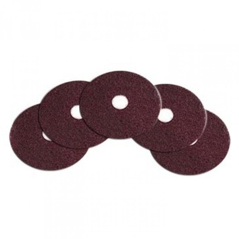 Case Of Maroon Heavy Duty Floor Stripping Pads 12 Quot Pads