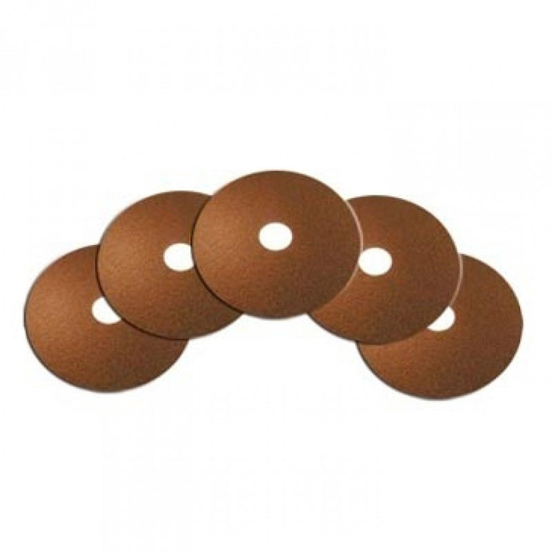 15 Inch Brown Floor Stripping Pads Case Of 5