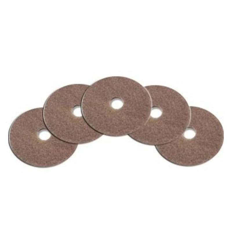 27 Inch Champagne Floor Polishing Pads 5 Per Case
