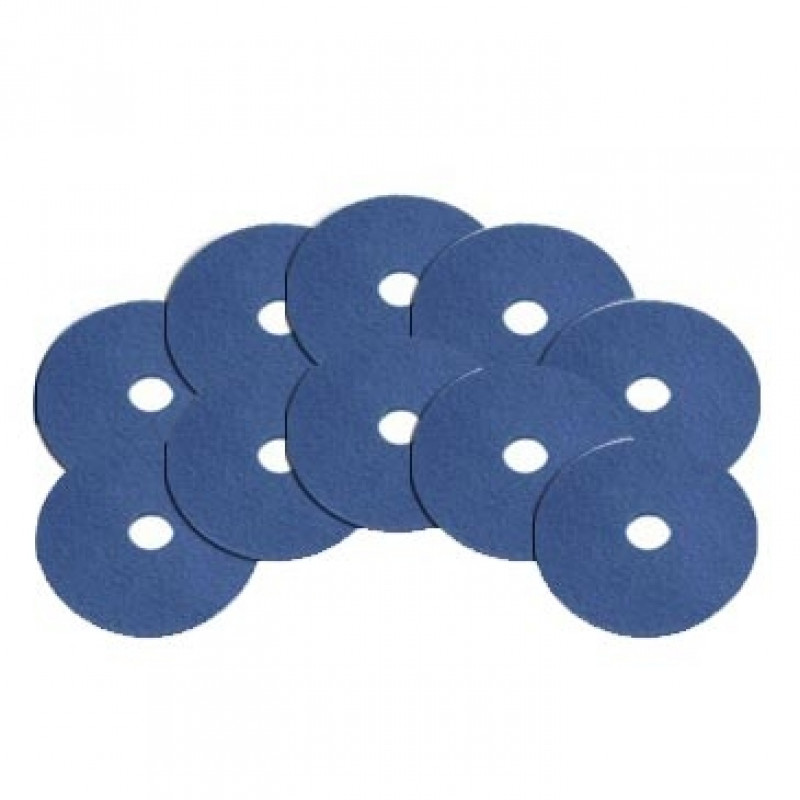6 5 Quot Blue Baseboard Edger Pads Case Of 10