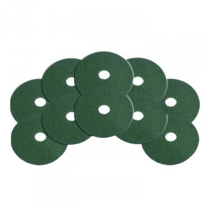 6 5 Quot Green Deep Cleaning Aggressive Floor Pads 10 Pack