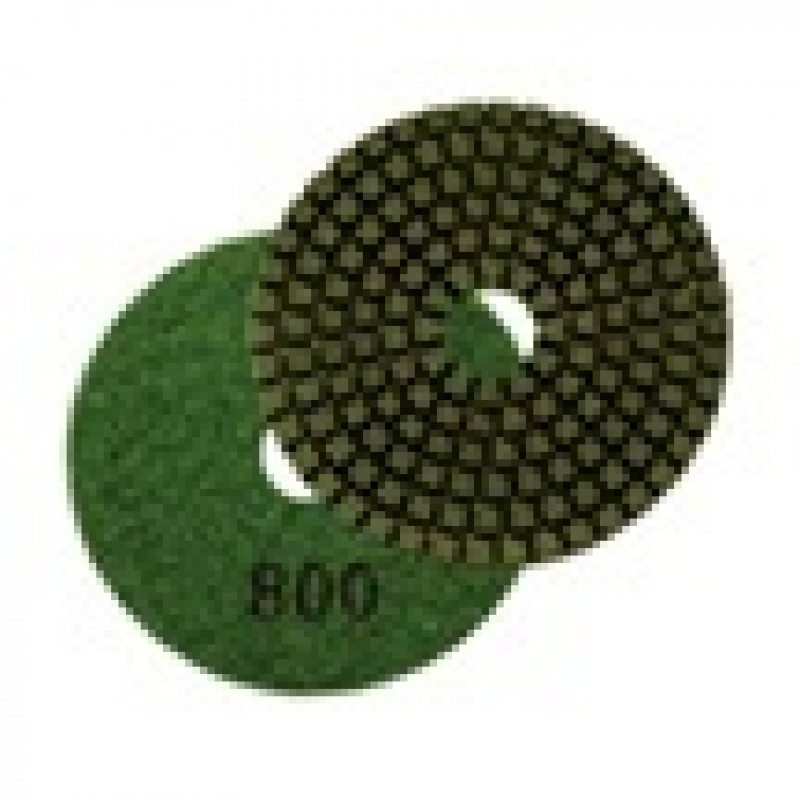 800 Grit Diamond Resin Disks For Concrete Polishers