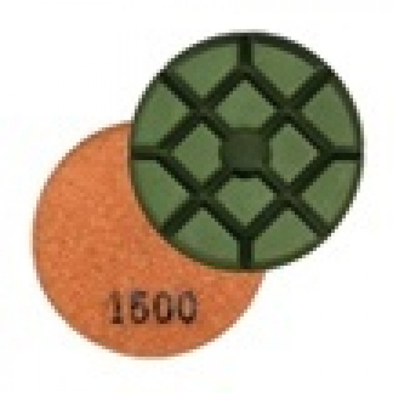 1500 Grit Wet Concrete Polishing Resin Disks