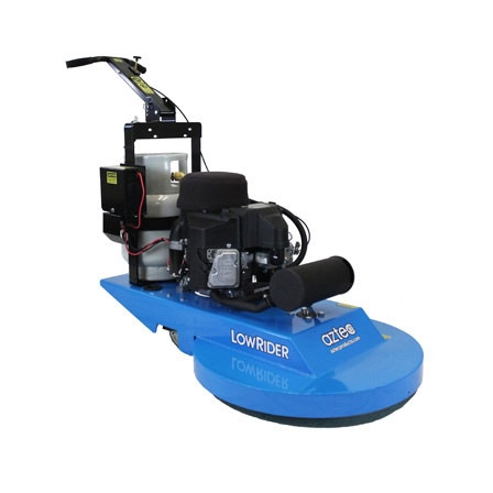 Aztec 27 inch propane burnisher for 13 inch floor buffer