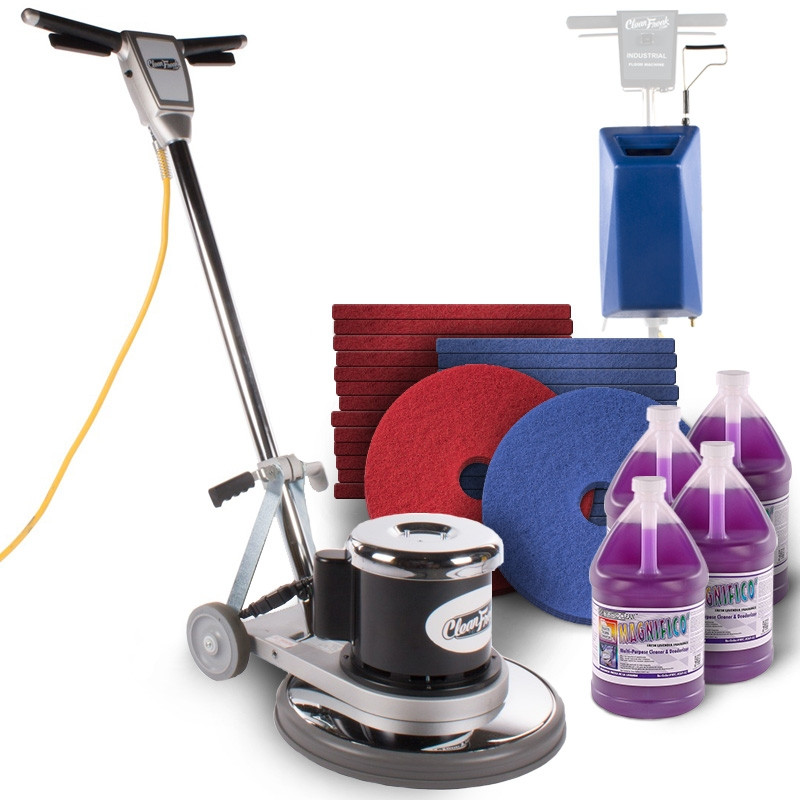 Floor Scrubbing Amp Cleaning Package With A 17 Quot Floor Buffer