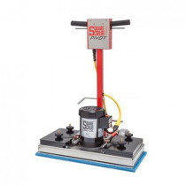 28 inch Square Scrub Pivot Floor Stripper