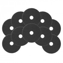 6.5 inch Black Floor Stripping Pads