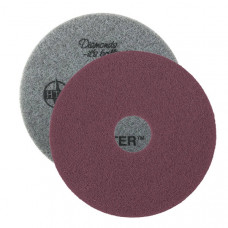 "Purple Twister™ SuperClean Diamond Concrete Cleaning Pads - Round (13"" - 20"")"